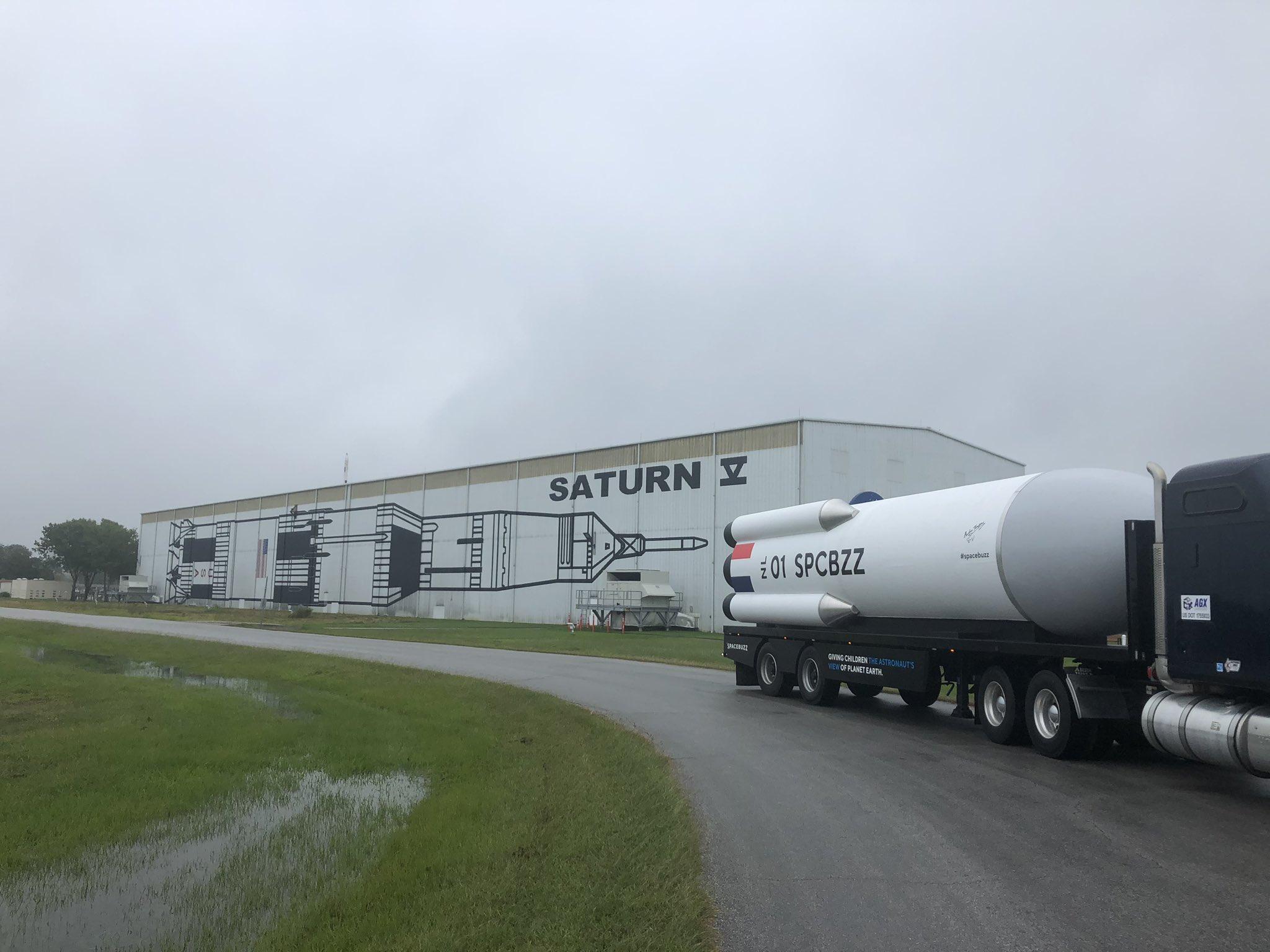 Internationale lancering SpaceBuzz in Houston en Washington DC