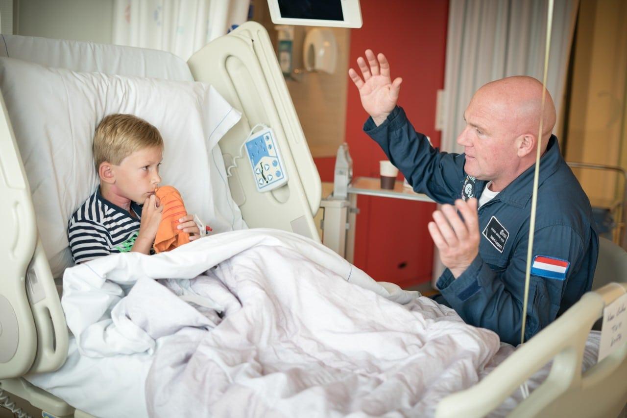 Op bezoek in het Emma Kinderziekenhuis