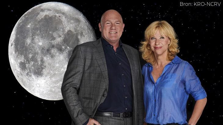 Herdenking historische maanlanding op TV en in het Concertgebouw Amsterdam